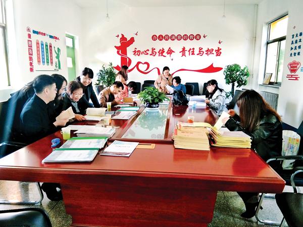 荫营联校组织教研员走进三都小学作指导