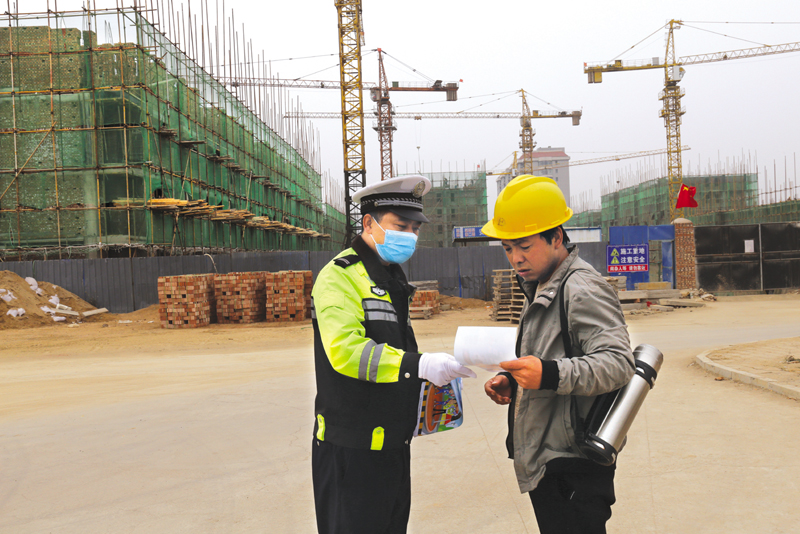 科学保障 稳步推进 ——盂县交警大队交通管理工作纪实