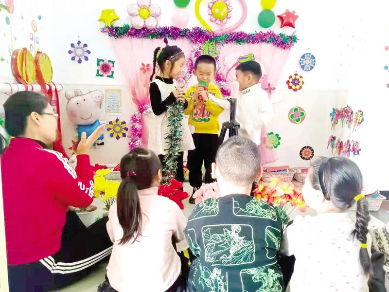 下千亩坪幼儿园开展自主游戏活动