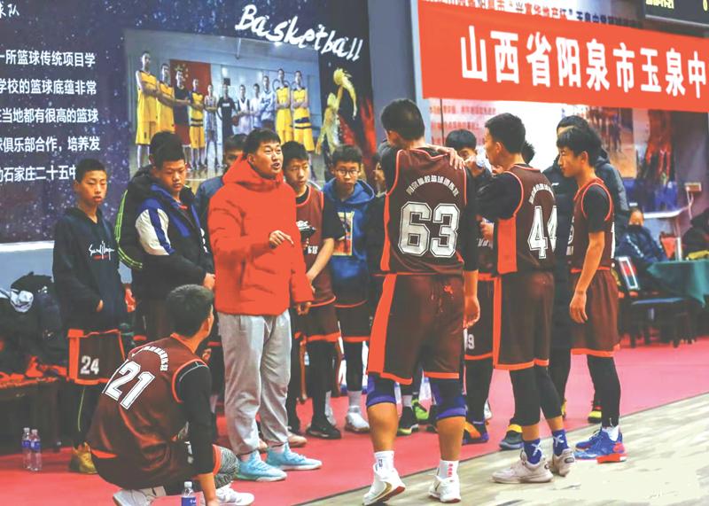 阳泉体校篮球训练营:为梦而战的摇篮