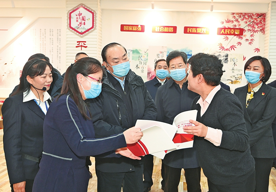 黄坤明在山西调研时强调:以扎实的宣传思想工作 为开启社会主义现代化新征程提供强大精神动力