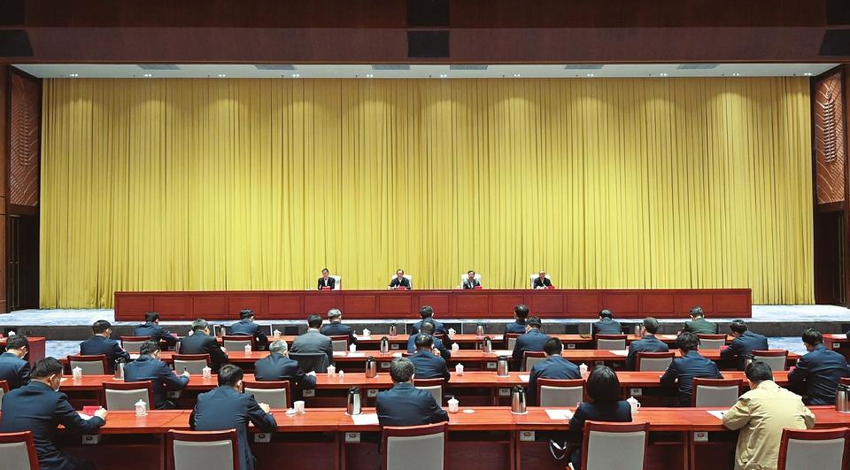 中央第一生态环境保护督察组督察山西省动员会在太原召开