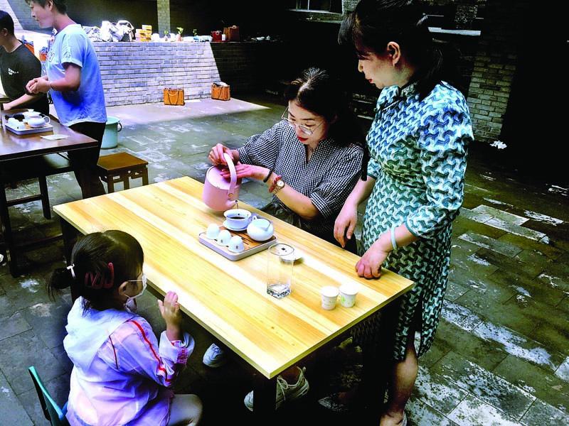 市博物馆举办茶艺体验活动 以茶习礼 感受传统文化
