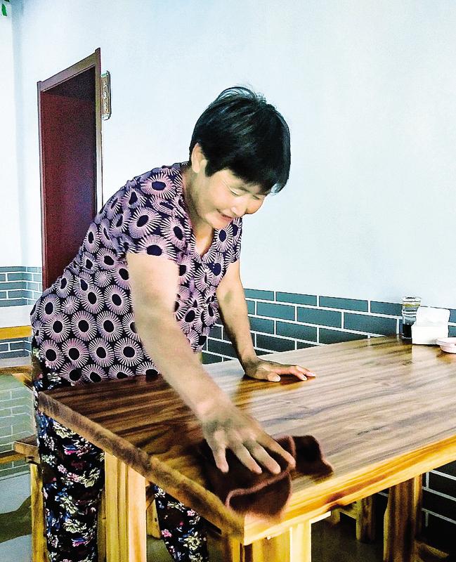 家门口增收乐享老年生活