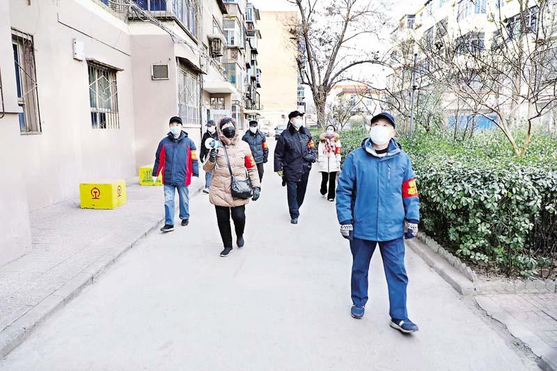 """金三角社区党委积极落实""""外防输入、内防反弹""""防疫措施"""