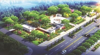 道路小游园景观设计