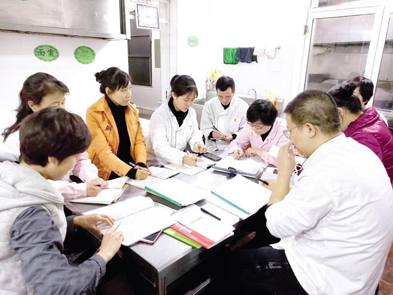 城区幼儿园组织学习《食品安全法》