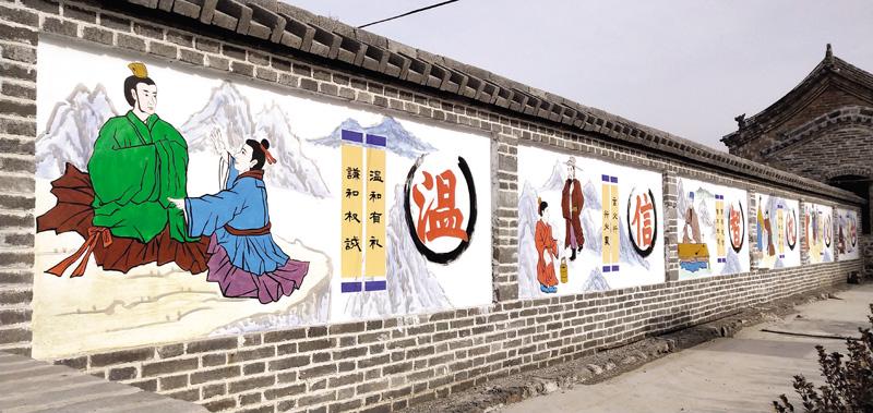 平定县巨城镇岩会村:改善乡村环境 创造幸福生活